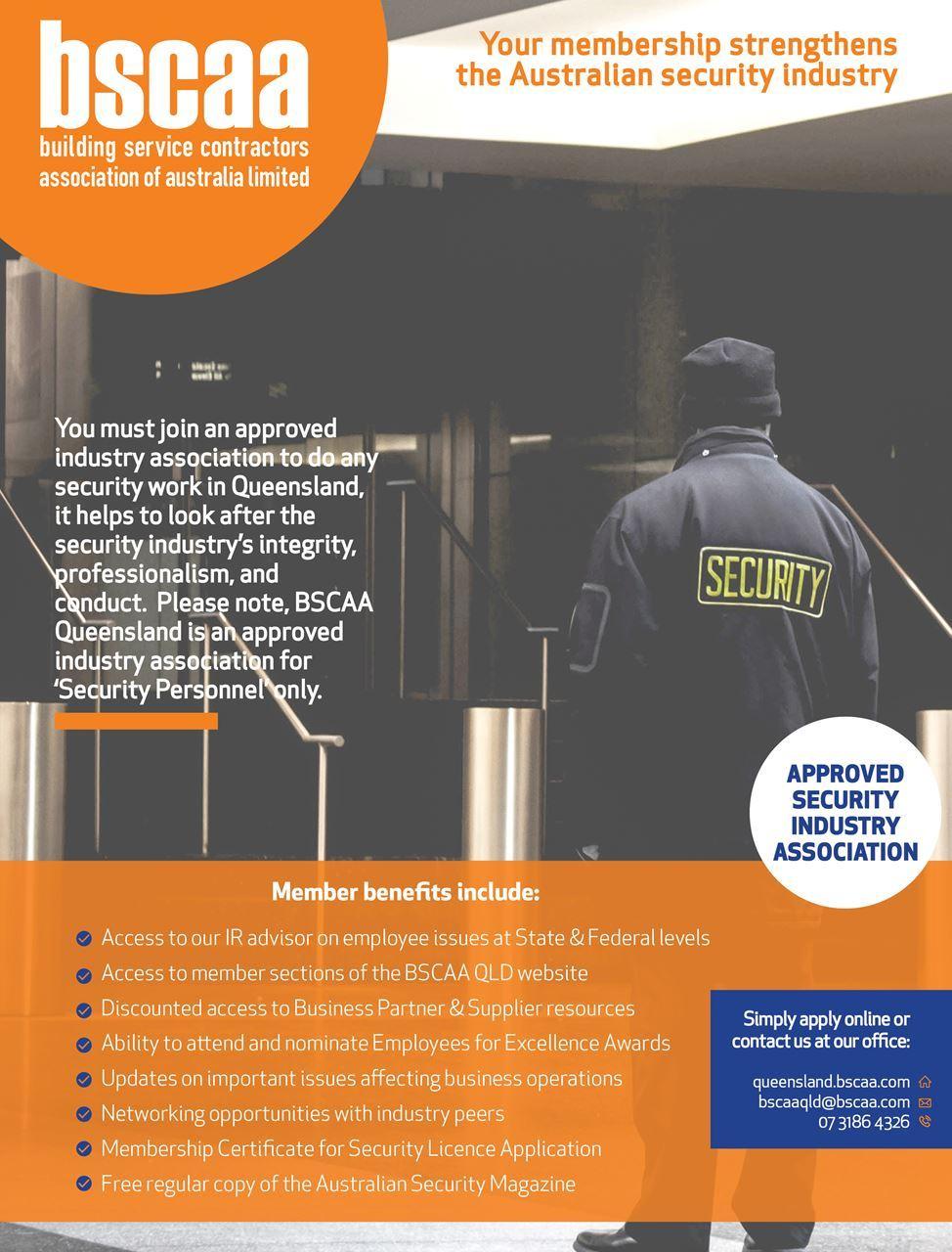 BSCAA Queensland - Security Members